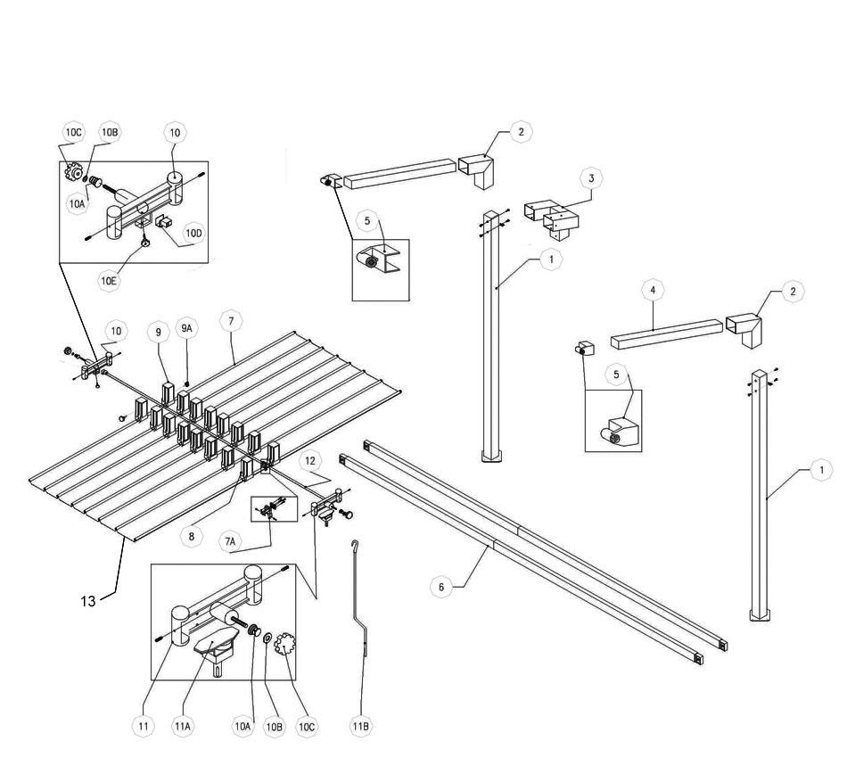 FIM Umbrella Parts Web